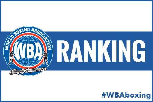 WBA Rankings for July