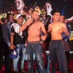 Nehomar Cermeño vs Anurak Thysa weigh-in