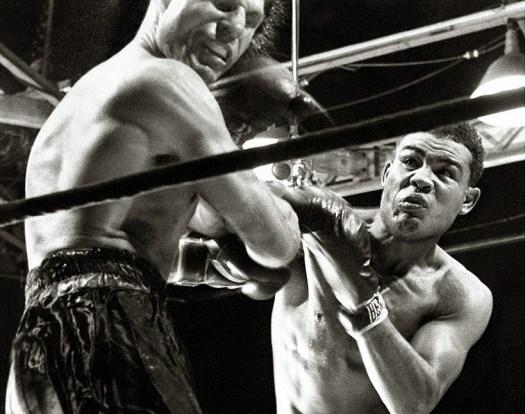 Joe Louis stopped Lou Nova via sixth-round TKO at New York's Polo Grounds.