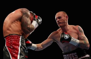 Groves KO'd David Brophy in April to win the then-vacant WBA belt. (Getty Images)