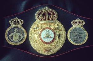 """Luis """"El Nica"""" Concepcion WBA Belt"""