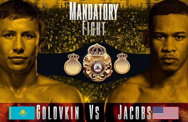 Golovkin - Jacobs Goes To Purse Bid