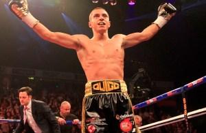 Scott Quigg. Photo Matchroom Boxing