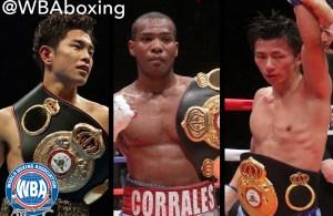 Tres títulos AMB en año nuevo en Japón