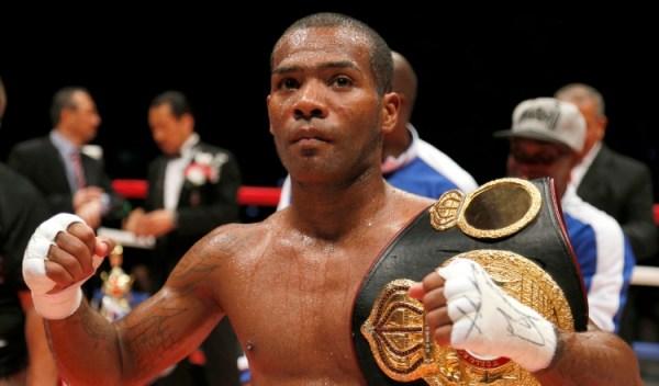 Jezreel Corrales WBA Super Featherweight Super Champion. (AP Photo/Toru Takahashi)