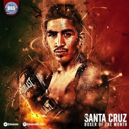 Santa Cruz named WBA boxer of the month