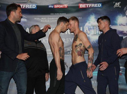Rose vs. Arnfield fight WBA-International