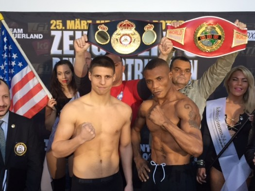Zeuge defends his WBA title this Saturday in rematch against Ekpo