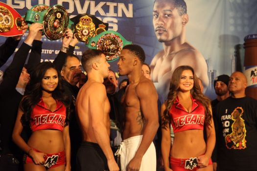 Golovkin and Jacobs ready to prove who is the best