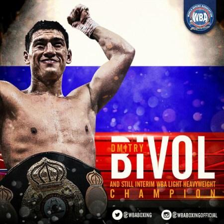 Bivol kept his WBA Light Heavyweight interim championship belt