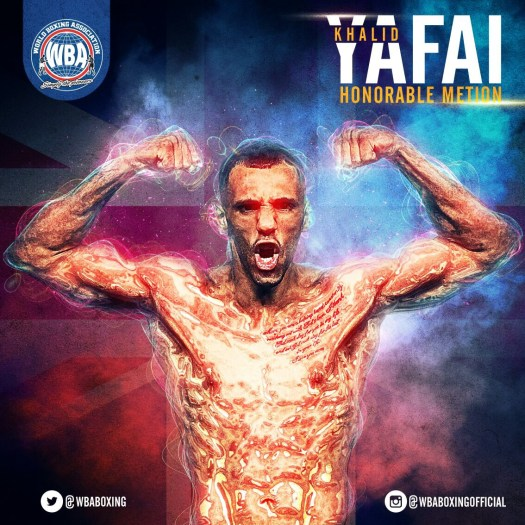 Khalid Yafai. WBA Honorable Mention