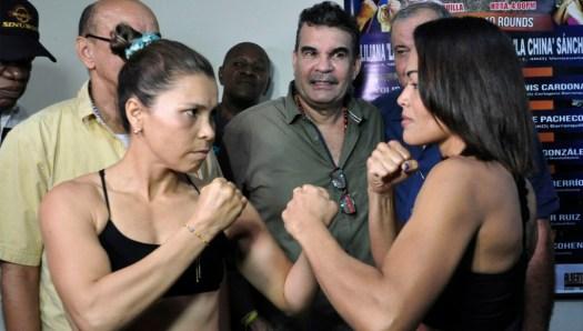 Palmera y Sánchez hicieron el peso en Barranquilla