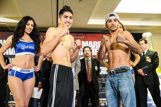 Santa Cruz, Mares, Avalos, Gutierrez all make weight