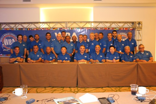 Gilberto Jesús Mendoza completes two years as the head of the WBA