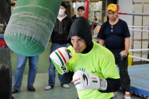 Konishi y Cañizales realizaron entrenamiento público