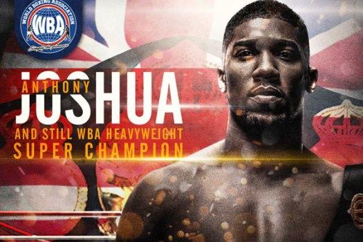 Anthony Joshua - Boxeador del mes de marzo 2018