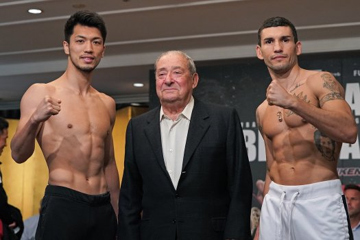 Murata and Blandamura Make Weight