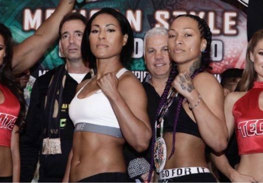 Braekhus and Reis Weigh in for Cinco de Mayo. Photo Marcelino Castillo.