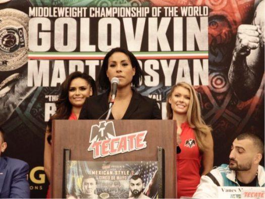 Braekhus y Reis esperan poner al boxeo femenino en alto. Foto: Marcelino Castillo.
