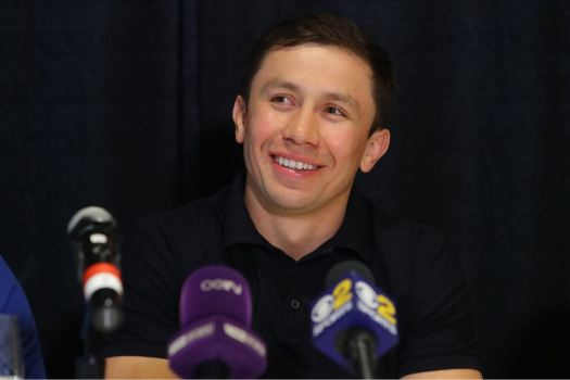 GGG Holds Press Conference in LA