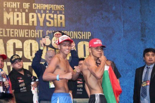 Ortega y Tepora se miden en Malasia.