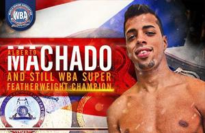 Alberto Machado - WBA Honorable Mention July 2018