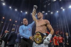 Callum Smith – WBA Honorable Mention September 2018