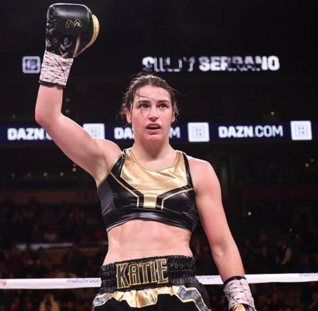 Katie Taylor retains her crown against Serrano