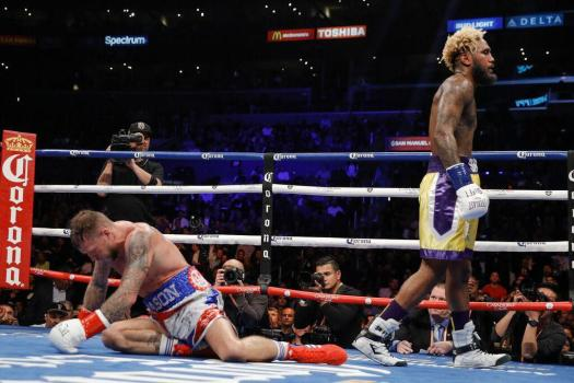 Jarrett Hurd returns to the ring with a knockout over Welborn