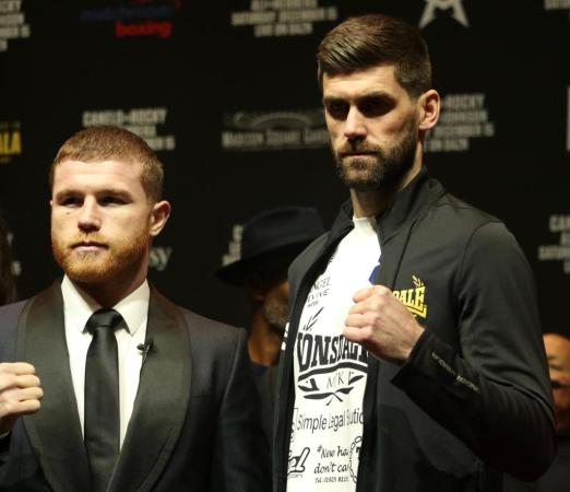 Canelo going for the story and Fielding for the surprise at MSG