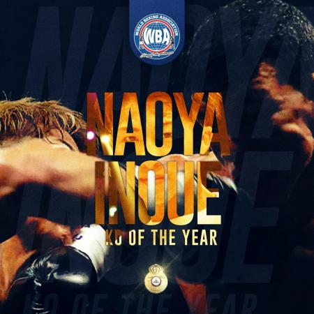Naoya Inoue earns WBA knockout of the year honors