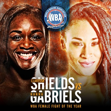 Claressa Shields vs Hanna Gabriels earns women's Fight of the Year