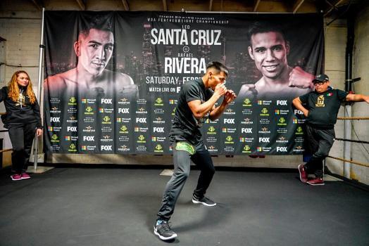 Rivera promises to dethrone WBA champ Santa Cruz