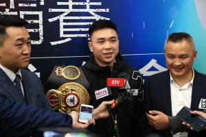 Can Xu will defend his WBA title against Wood at Matchroom Fight Camp