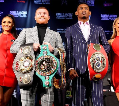 Canelo and Jacobs will go to war this Saturday in Las Vegas