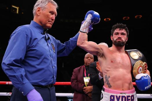 Ryder blasts Akkawy in three rounds