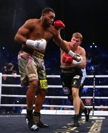 Povetkin and Hunter fight to a draw for the WBA Heavyweight Title Eliminator
