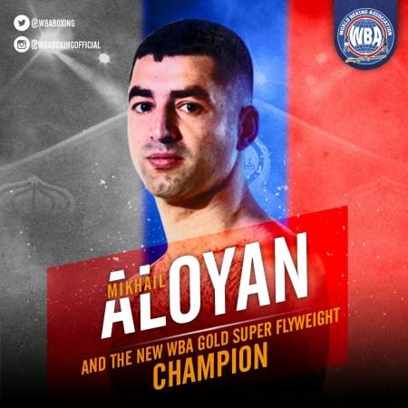 Aloyan dominates Batista to win the WBA-Gold Super Flyweight Title