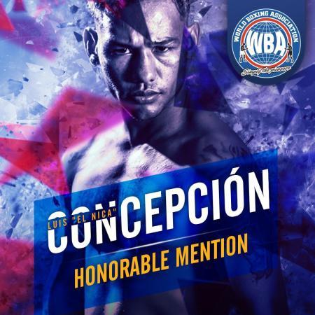 Luis Concepción– WBA Honorable Mention February 2020