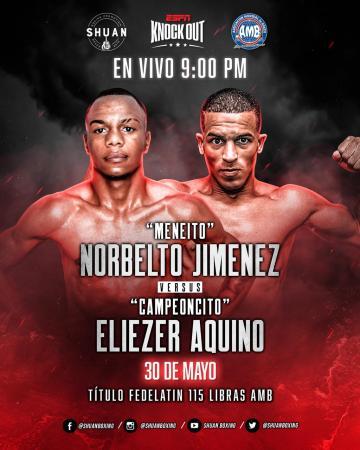 Boxeo regresa en Dominicana con el protocolo de seguridad AMB