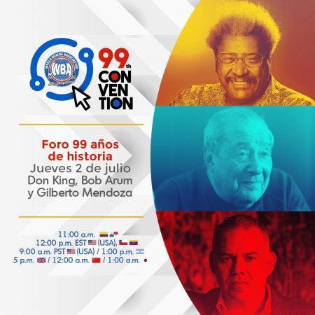 La historia en la voz de Bob Arum y Don King en el segundo día de la 99ª Convención de la AMB