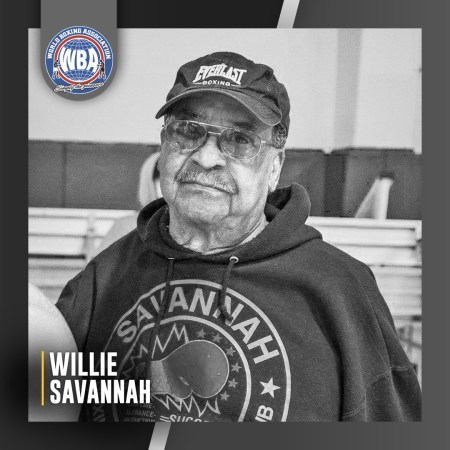 The WBA mourns the passing of Willie Savannah