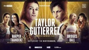 Taylor-Gutierrez will meet on November 14