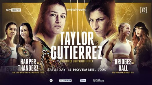 Taylor-Gutierrez will fight for the unified belts at Wembley