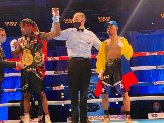 Konki beat Salas in France and is the new WBA-Intercontinental Champion