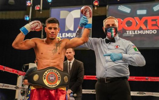 Preciado knocked out Hernandez and won the WBA-Fedecentro title
