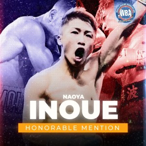 Naoya Inoue -Mención honorífica AMB –Octubre 2020