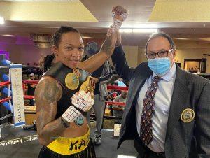 Keli Reis won the WBA 140-pound title