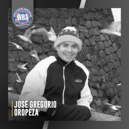 The WBA mourns the death of José Gregorio Oropeza