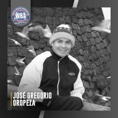 The WBA mourns the death of José Gregorio Oropeza